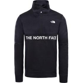 The North Face Train N Logo Bluza z długim rękawem z zamkiem błyskawicznym 1/4 Mężczyźni, tnf black